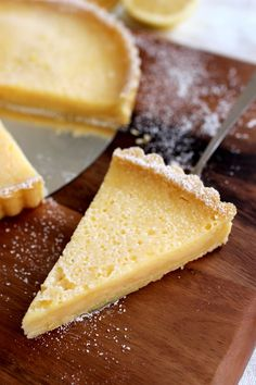 has english translation on site French Tart, No Bake Desserts, Tartan, Wicked, Food And Drink, English Translation, Cheese, Baking, Sweet