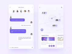 Party App by Yvonne Fung