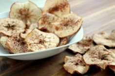 Spiced Baked Apple Chips by Anne Mauney