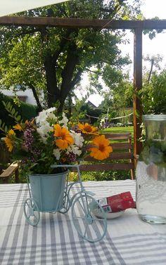 Blumen aus dem Garten