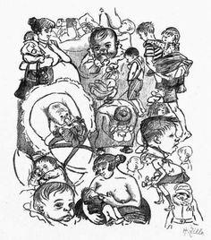 Heinrich Zille – Klein und Groß
