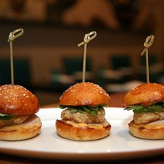 """Once the territory of greasy diners and fast food chains, """"sliders"""" originally referred to thin mini-burgers in squishy potato buns. While purists can still find this classic version, America's..."""