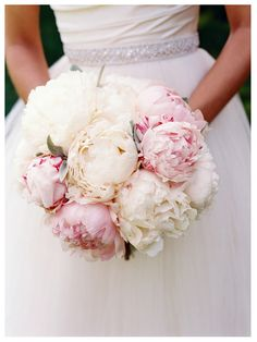 Blush and white bouquet- what do you think @Brittany Horton Horton Taylor? Not completely white, but close to it?