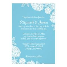 See MoreElegant Blue And White Wedding Invitations Custom Invitein each seller & make purchase online for cheap. Choose the best price and best promotion as you thing Secure Checkout you can trust Buy best