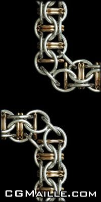captive inverted roundmaille...a corner?? cool!!