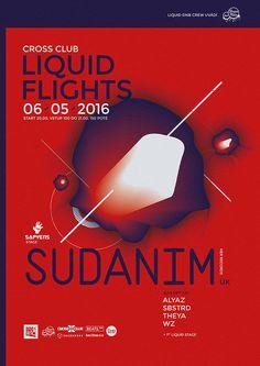 Rudolf Matejcek / Liquid Flights poster