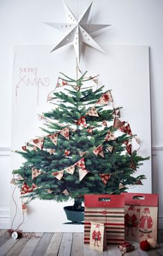 ikea 6 foot christmas tree tapestry- I need this but can't find it...help
