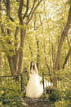 #brides #kcbrides #kcweddings #kcvenues #kcvintageweddings #kansascitybrides #kansascityvenues #kansascityweddings #kansascityvintageweddings #forest #nature #photography #enchanted #weddingdress #vintage #trees #veil #floral #flowers #gate