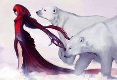 Creatures of Snow by *Newsha-Ghasemi on deviantART