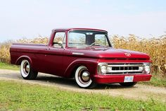 The Wood Family's 1961 Ford Unibody combines classic looks with hot rod style.