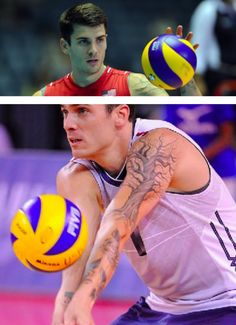Matt Anderson jugador profesional de voleibol de Estados Unidos