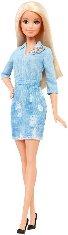 49 Barbie® Fashionistas Doll (Denim Top & Bottom) ORIGINAL