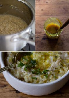 Farro Millet Risotto Recipe