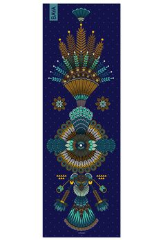 Pour Noël, découvrez en édition très limitée le tapis Hikkaduwa, designé par l'illustratrice Koralie. Tapis en caoutchouc naturel, 3 mm et 183*61 cm.