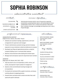 Easily write a strong resume objective (or career objective) with our professional examples and writing tips – strengthen your resume now! Career Objectives For Resume, Student Resume, Resume Writing, Resume Advice, Resume Help, Career Advice, Career Objective Examples, Resume Examples, Resume Objective Statement