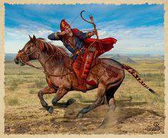 Знатный скифский воин Южная Сибирь VII - VI век до н.э. (по материалам раскопок могильников Гилёво-10 и Кичигино 1)