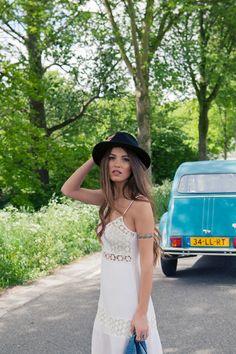 Road Trip in the Perfect Maxi Dress | Negin Mirsalehi Blog