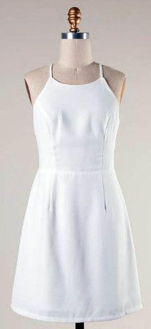 The Kinsey Cutout Back Dress