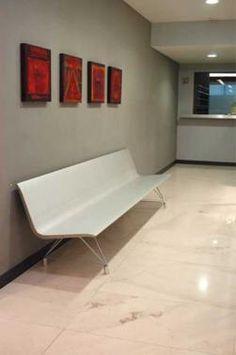 Aero Bench in a lobby