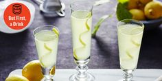 France Is in the World Cup Finals, So Let's Pour Back Some French 75s