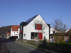 ... und in das moderne Fassadenkonzept integriert