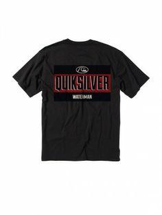 Camiseta Quiksilver Men's Self Serve T-Shirt Anthracite #Camisetas #Quiksilver