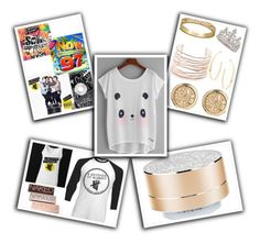 """Logan - Birthday Gifts"" by jazzy-you-are-yelling ❤ liked on Polyvore featuring Urban Decay, Merkury, Alexis Bittar, Lana and Garrard"