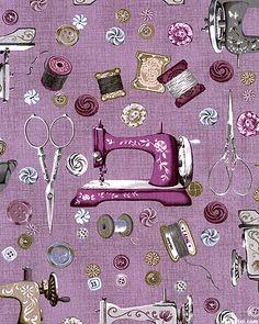 Vintage Couturier 2 - Antique Accessories - Amethyst