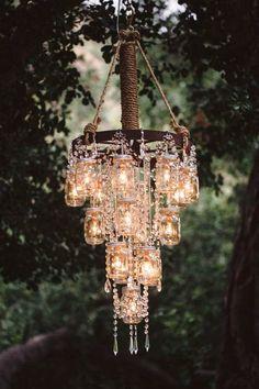 vintage Mason Jar Wedding Decorations                              …