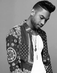 We love Miguel's slick look.