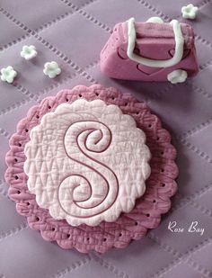 Purple Girl's Fondant Cake