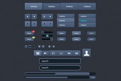 45 Free and Fresh Web User Interface PSDs