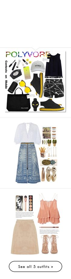 """"" by rafalzena ❤ liked on Polyvore featuring bkr, Acne Studios, ILI, Yves Saint Laurent, Revo, Violeta by Mango, Fendi, Casetify, Chanel and Topshop"
