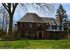 Tudor Style House, Shaker Heights, OH, Circa 1920