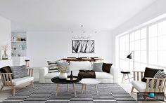 A-White-Walls-Scandinavian-Home.jpg (442×276)