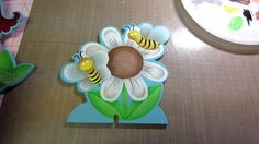 Decorative painting tutorial; adding the details