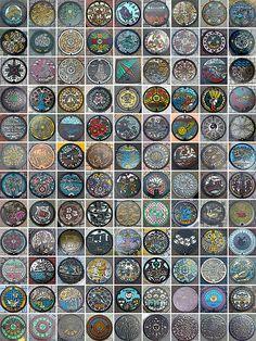 Beautiful Japanese Manhole Covers - BOOOOOOOM! - CREATE * INSPIRE * COMMUNITY * ART * DESIGN * MUSIC * FILM * PHOTO * PROJECTS