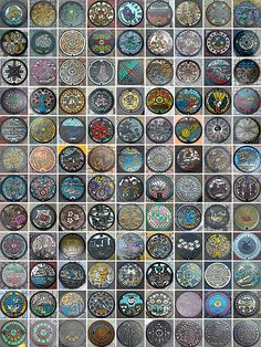 Beautiful Japanese Manhole Covers - BOOOOOOOM! - CREATE * INSPIRE * COMMUNITY * ART * DESIGN * MUSIC * FILM * PHOTO * PROJECTS