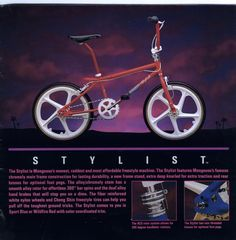 1988 Mongoose Stylist.