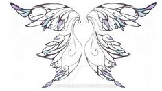 I've decided not to go with this design for my future tattoo. I've been working on drawing fairy wings and when I feel I have the perfect set, I will then be getting those tattooed on me. As such, ...