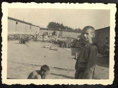Mauthausen, Austria, 1945, General view of the camp, at the time of liberation.