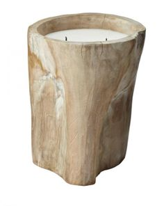 A30792 Log Candle 12x10