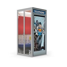 Cubicall's New Booth Looks Like a Job For Superman Interior Ideas, Interior Design, Superman 1, Office Interiors, Office Furniture, Game Room, Bookends, Room Ideas, Superhero