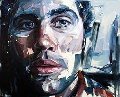 Artwork © by Nick Lepard Portraits, Portrait Art, Portrait Paintings, Modern Art, Contemporary Art, Wow Art, Heart Art, Painting Inspiration, Sketchbook Inspiration