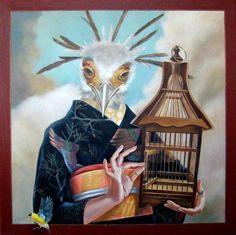 Natalia Vetrova, surrealism art, surrealistic paintings, Russian surreal artist