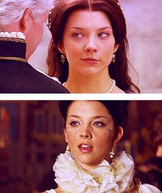 "Natalie Dormer as Anne Boleyn in ""The Tudors"""