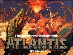 Gamers & Grognards: Appendix Nspiration: The Brothers Hildebrandt Atlantis Calendar Art