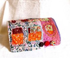 Table quilt Miniature quilted servingtray mini by recyclingroom, $45.00