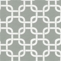 White and Gray Polka Dot Fabric by the Yard   Carousel Designs -- accent pillow fabric