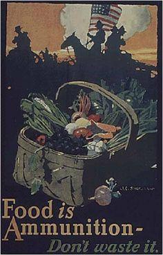 Food, WWI - America